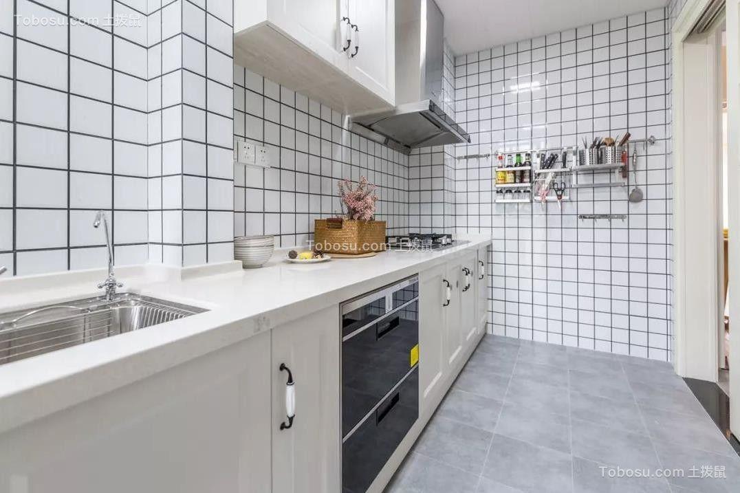 2021北欧厨房装修图 2021北欧背景墙装修设计