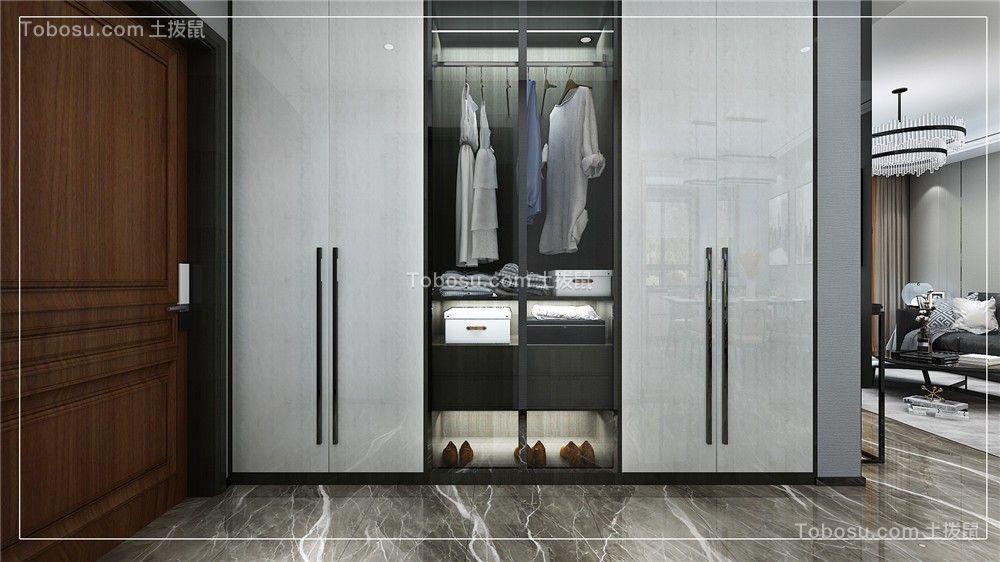 2021现代简约玄关图片 2021现代简约衣柜装修设计