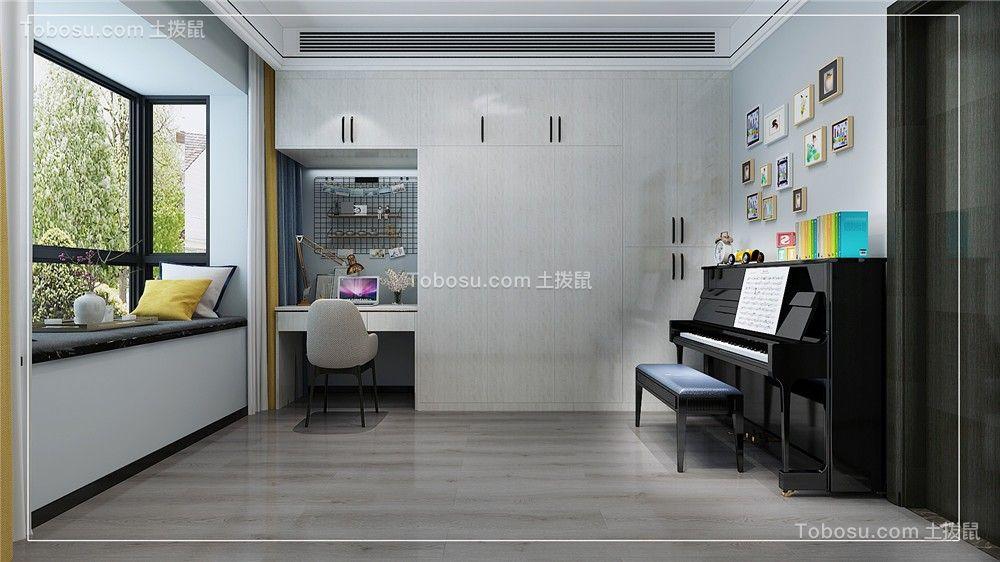 2021现代简约儿童房装饰设计 2021现代简约衣柜设计图片