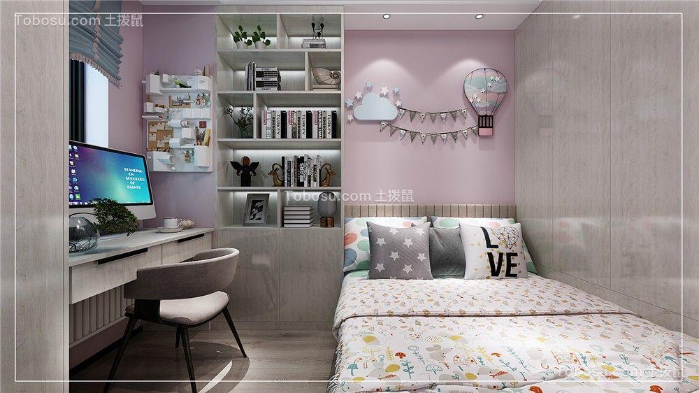 2021现代简约儿童房装饰设计 2021现代简约背景墙装修图