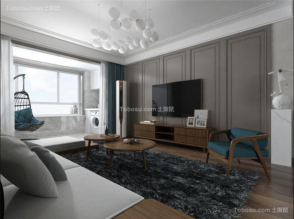 2021现代简约客厅装修设计 2021现代简约地砖装修效果图大全