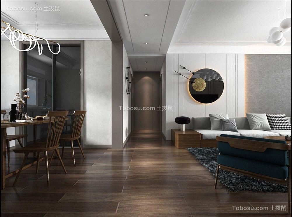 2021现代简约客厅装修设计 2021现代简约吊顶设计图片