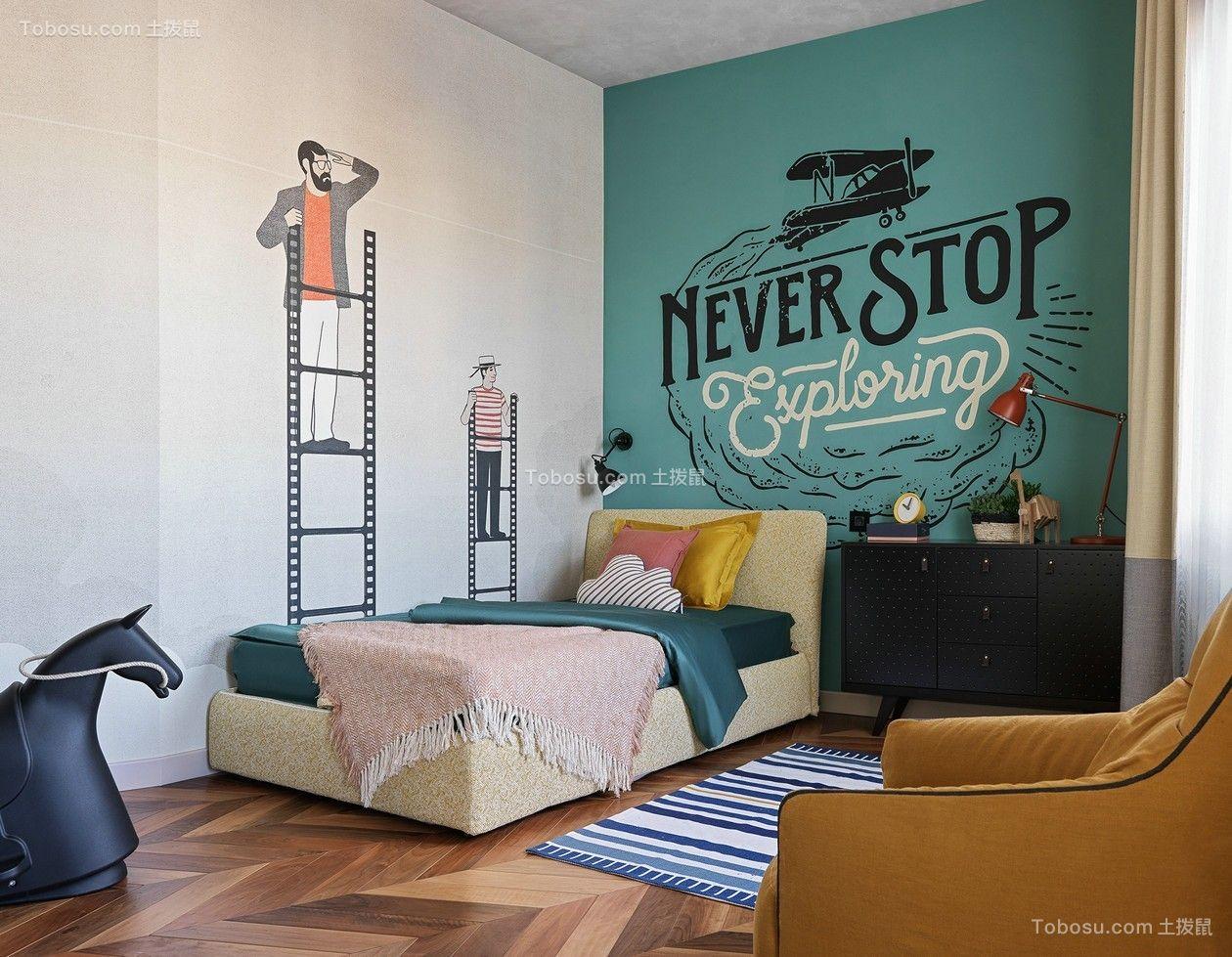 2021简约卧室装修设计图片 2021简约地板装饰设计