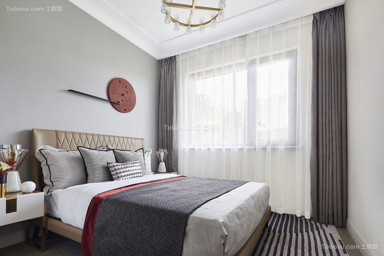 2021混搭卧室装修设计图片 2021混搭床装修效果图片