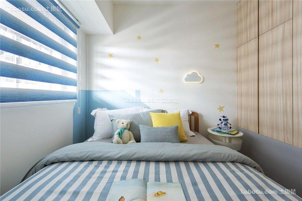 2021北欧卧室装修设计图片 2021北欧床装修效果图片
