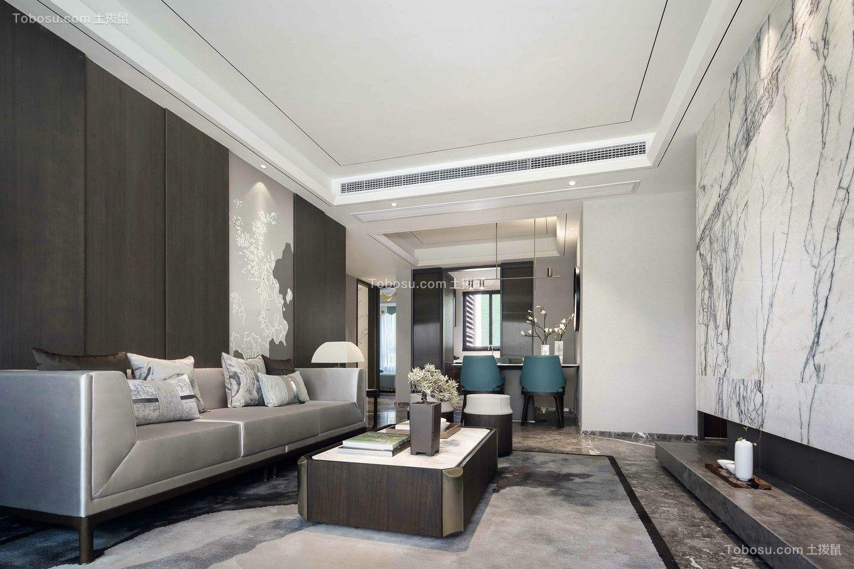 2021中式客厅装修设计 2021中式吊顶图片
