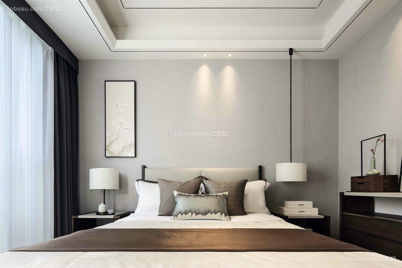 2021中式卧室装修设计图片 2021中式吊顶图片