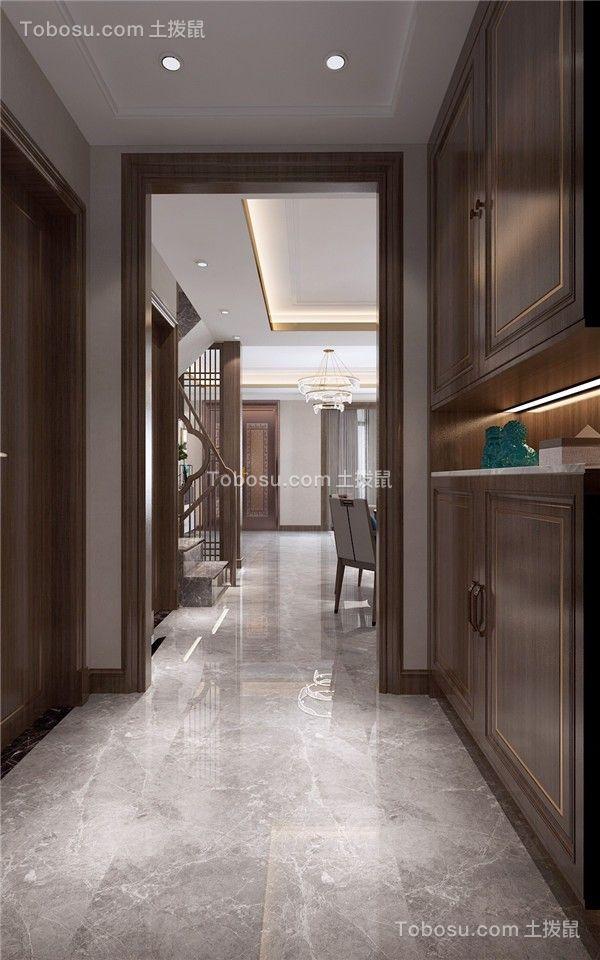 2021中式玄关图片 2021中式衣柜装修设计