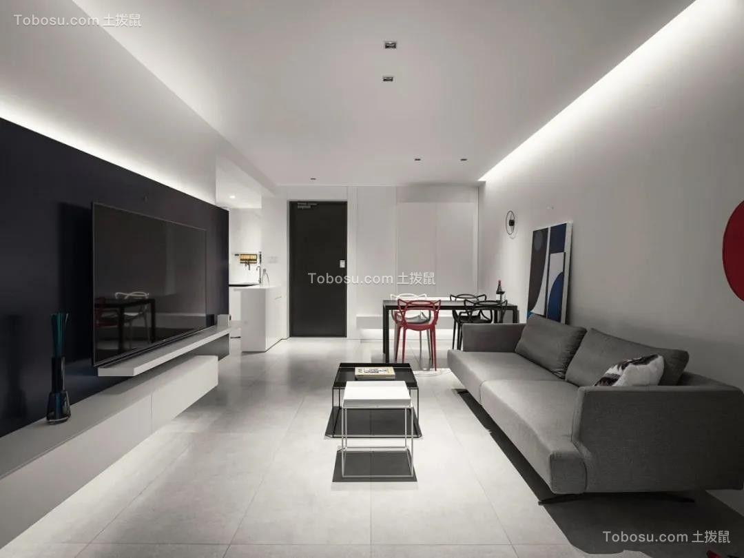 2021简约客厅装修设计 2021简约电视背景墙图片