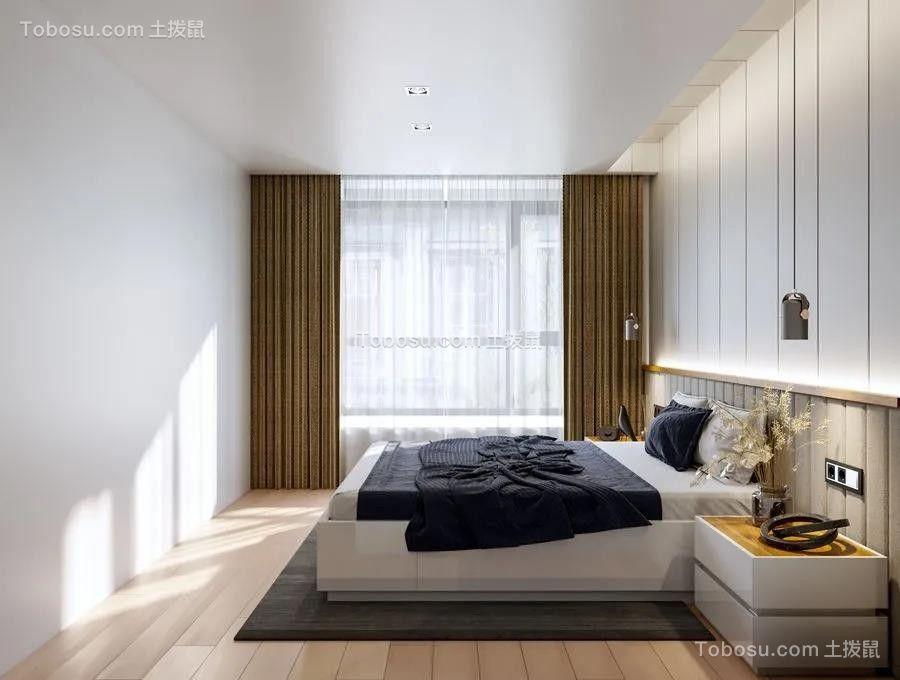 2021简约卧室装修设计图片 2021简约床装修效果图片