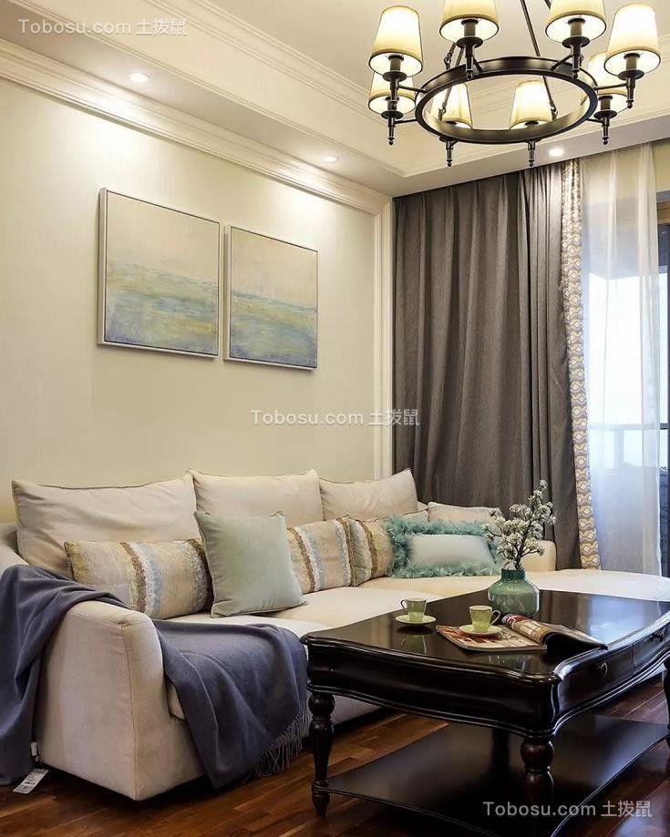 2021美式客厅装修设计 2021美式背景墙装修设计