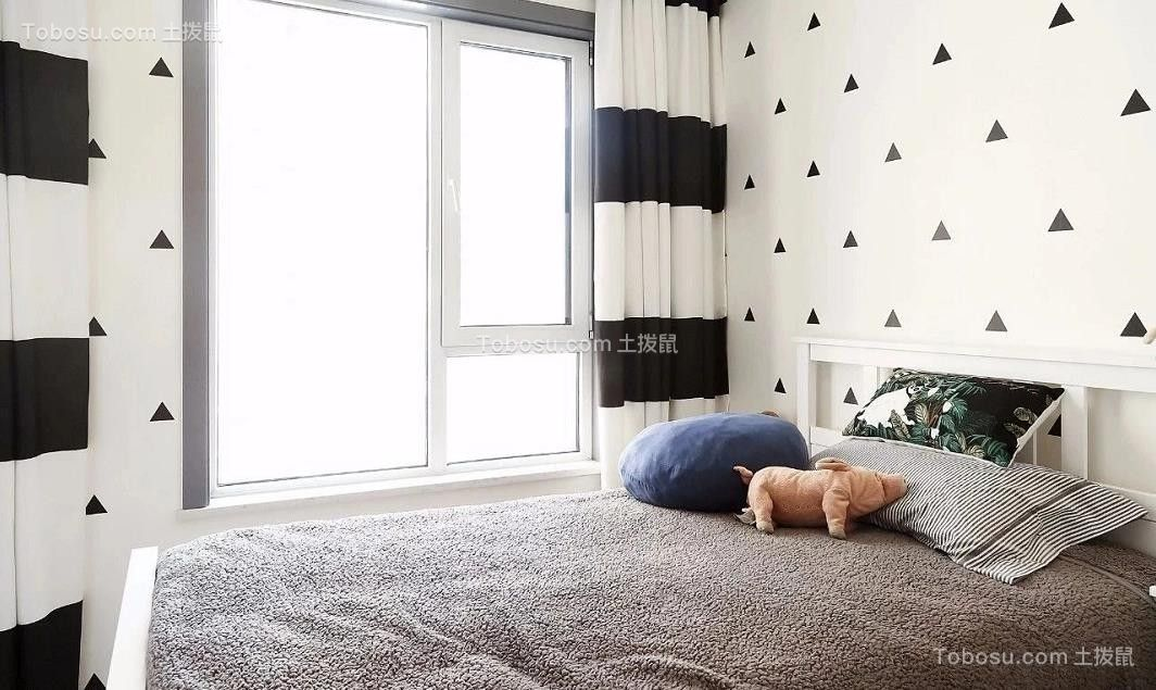 2021现代简约卧室装修设计图片 2021现代简约床装修效果图片