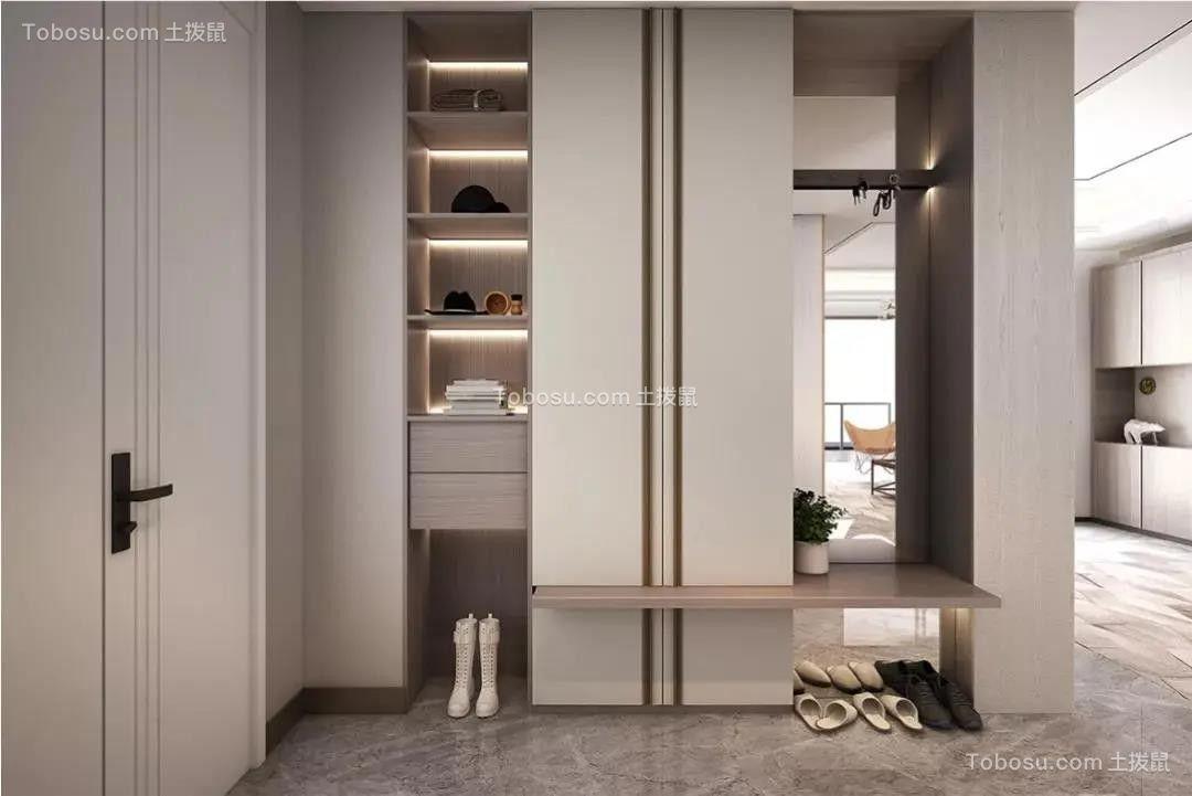2021现代客厅装修设计 2021现代鞋柜装修图