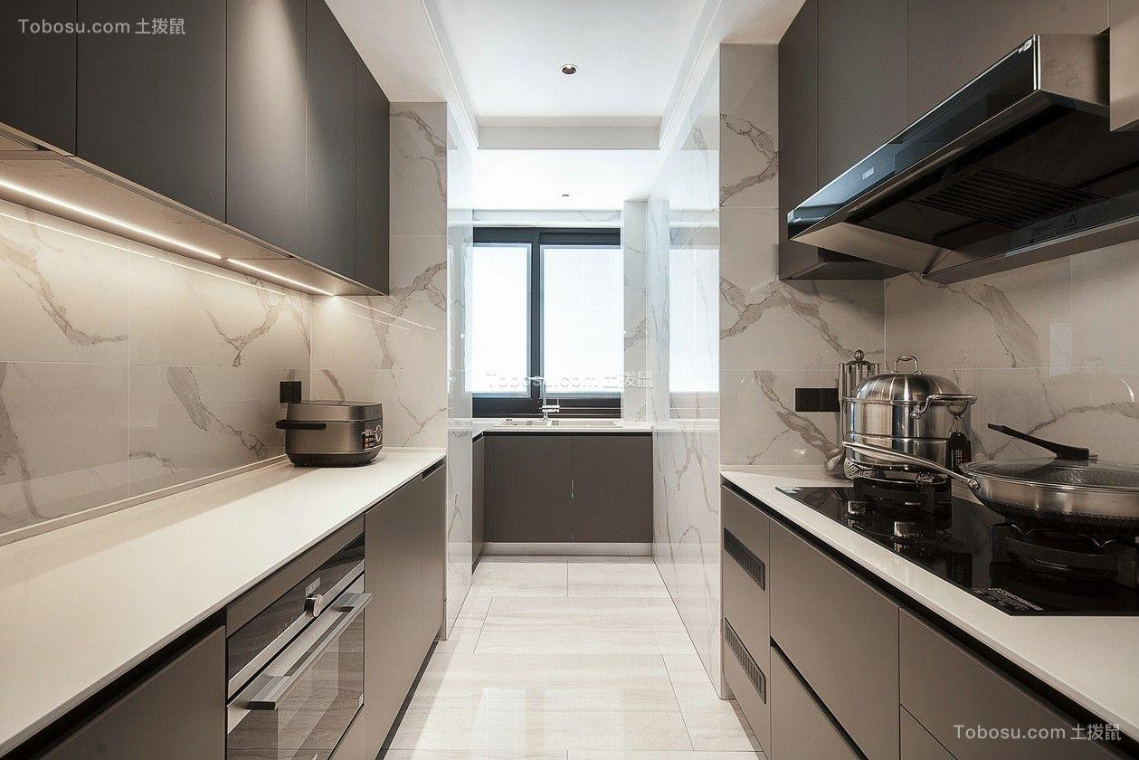 2021现代简约厨房装修图 2021现代简约地砖装修设计
