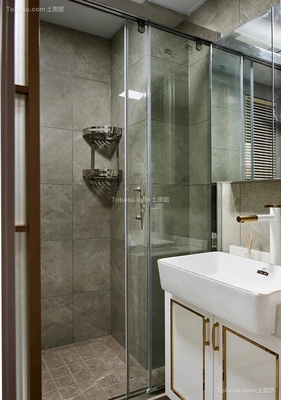 2021现代欧式卫生间装修图片 2021现代欧式淋浴房装修设计图片