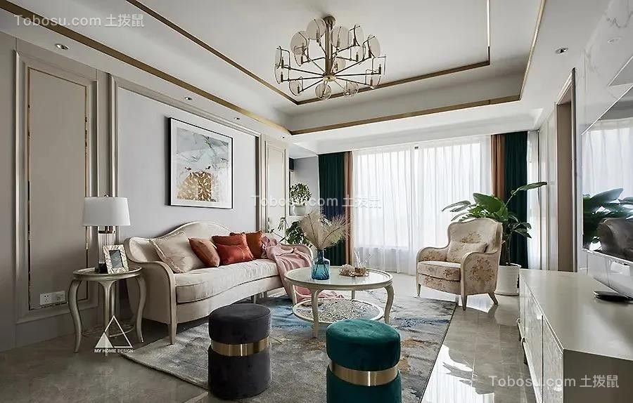 2021现代欧式客厅装修设计 2021现代欧式沙发装修图