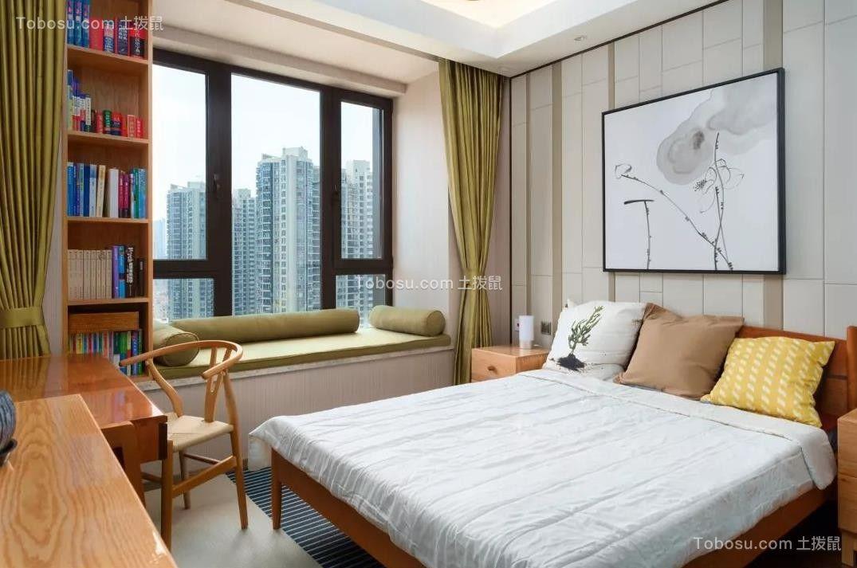 2021简约卧室装修设计图片 2021简约书架装修效果图大全