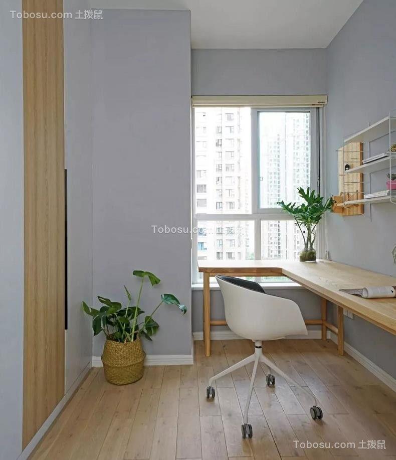 2021现代简约书房装修设计 2021现代简约书桌图片