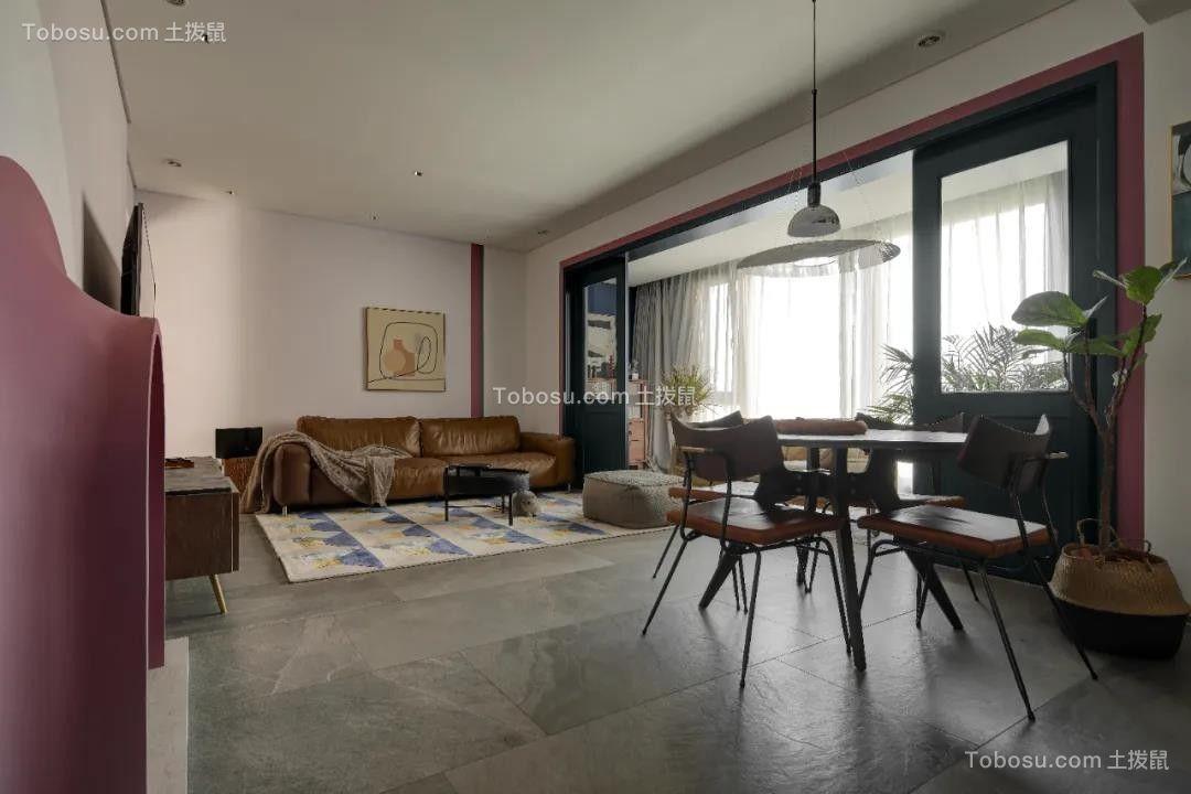 2021美式客厅装修设计 2021美式吊顶图片