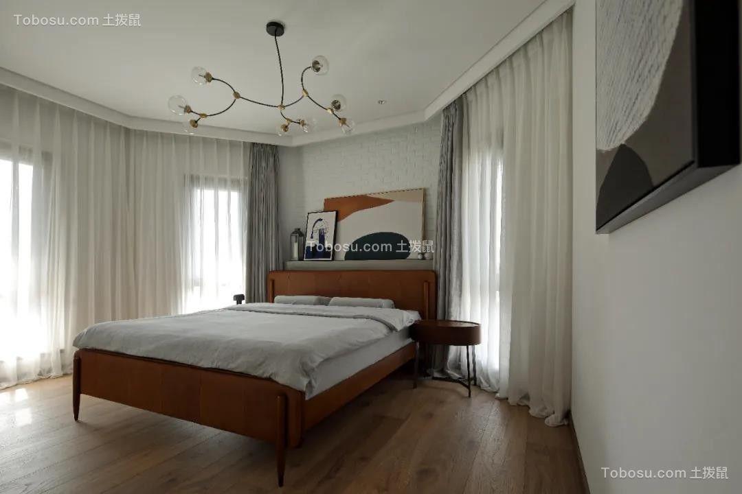 2021美式卧室装修设计图片 2021美式床装修效果图片
