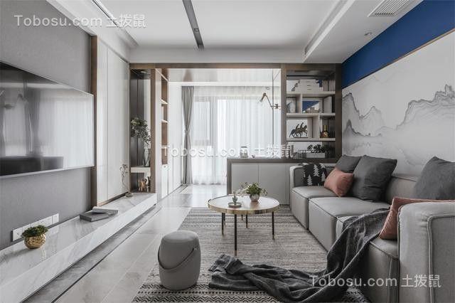 120平 新中式铂羽公馆 简单住宅