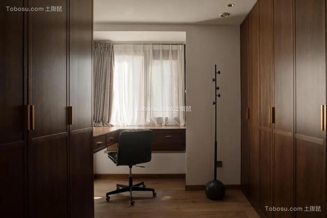 2021现代书房装修设计 2021现代飘窗装修图片