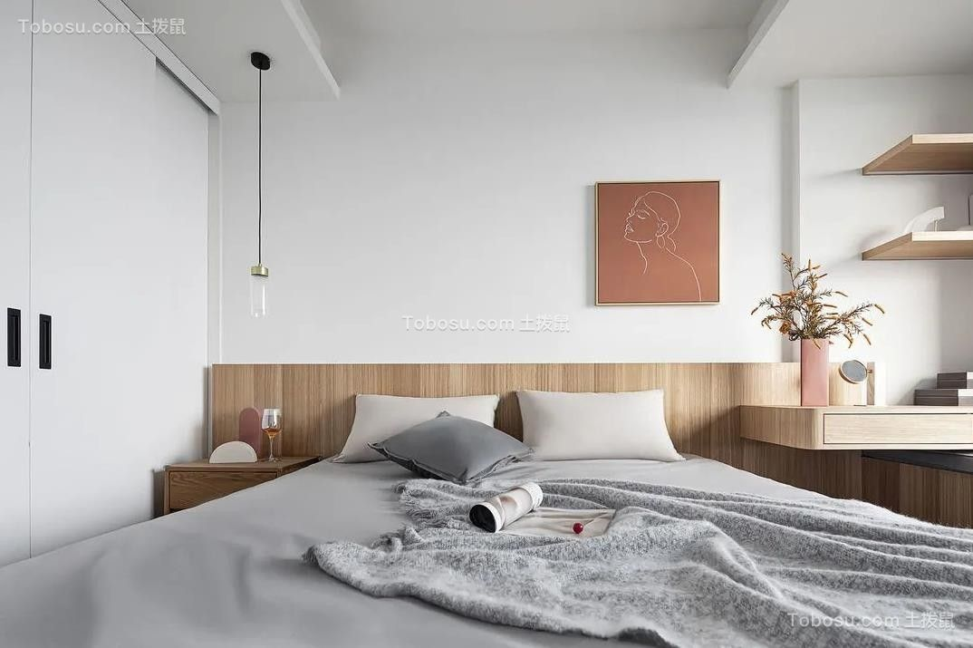 2021现代简约卧室装修设计图片 2021现代简约衣柜图片