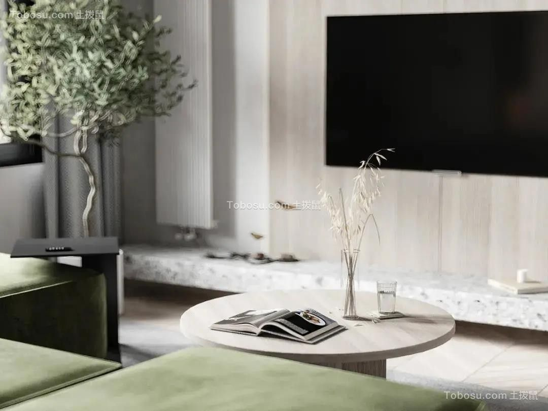 2021日式客厅装修设计 2021日式电视背景墙装修设计图片