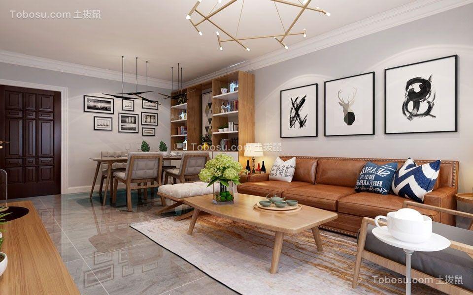 2021现代中式客厅装修设计 2021现代中式细节装饰设计
