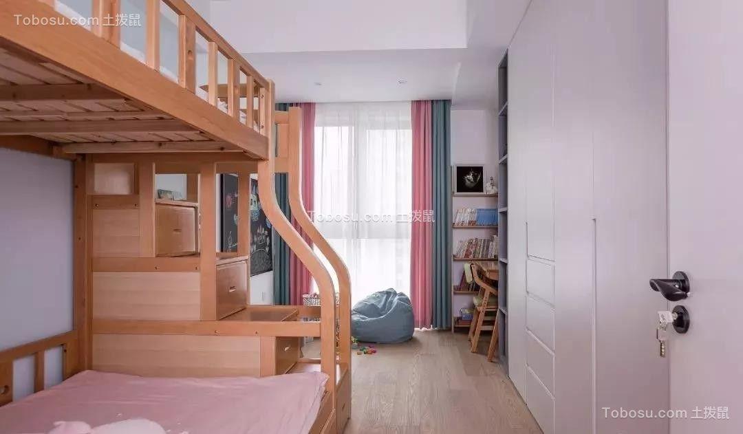 2021北欧儿童房装饰设计 2021北欧床装修效果图片