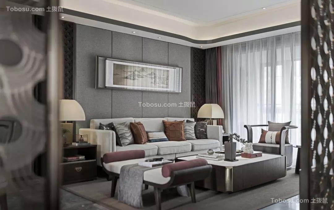 2021新中式客厅装修设计 2021新中式沙发装修图