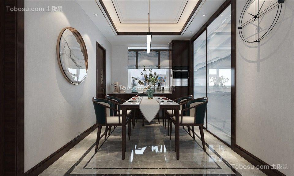 2021新古典餐厅效果图 2021新古典餐桌装修图片