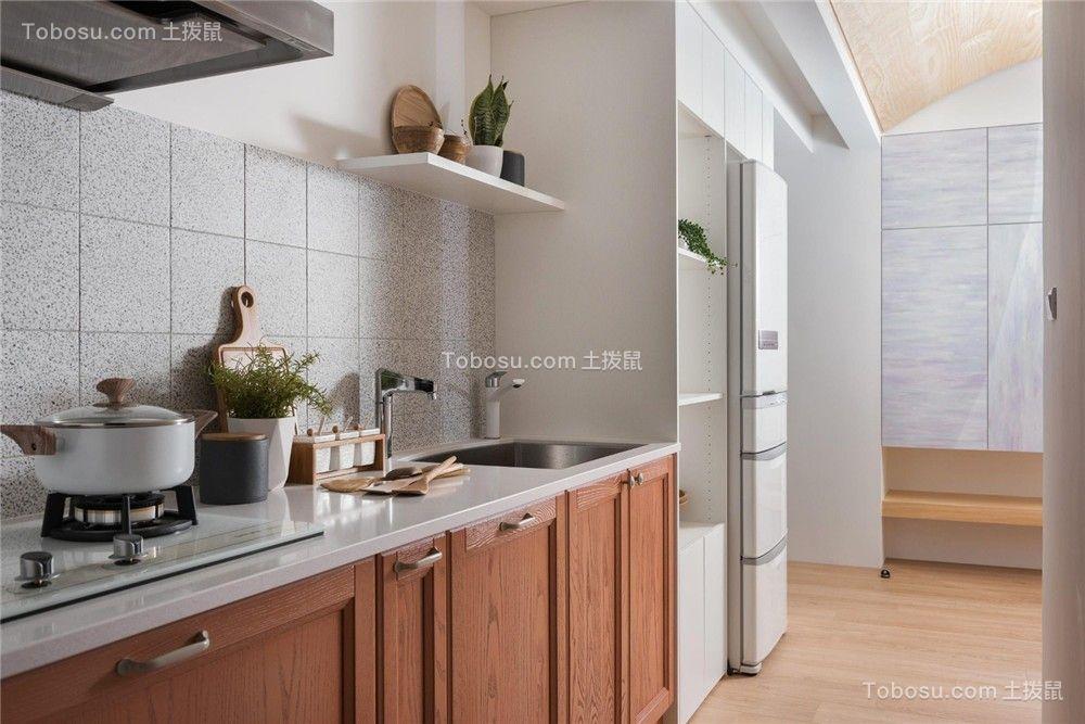 2021现代厨房装修图 2021现代橱柜装修设计