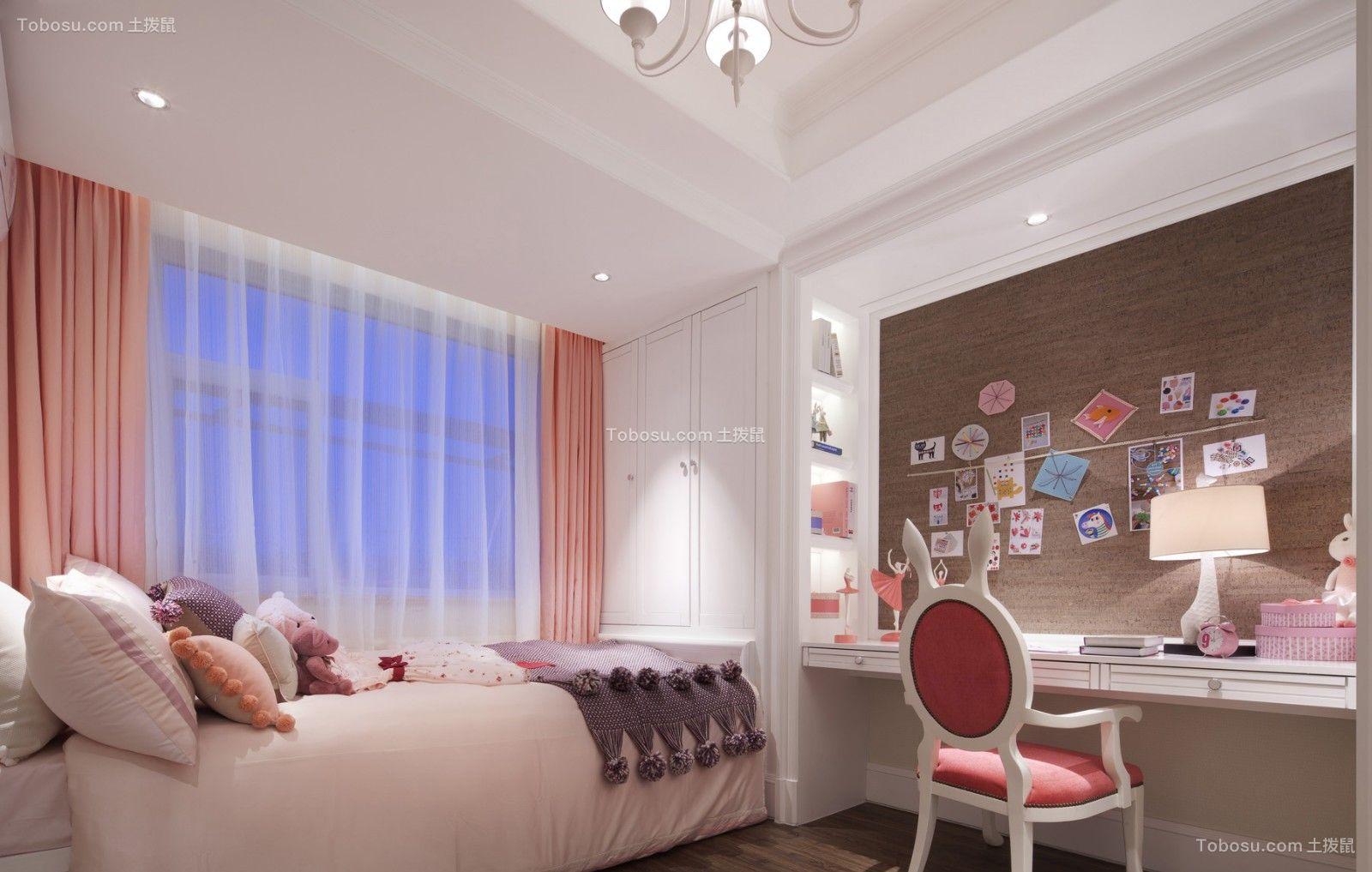 2021法式儿童房装饰设计 2021法式照片墙装修图片
