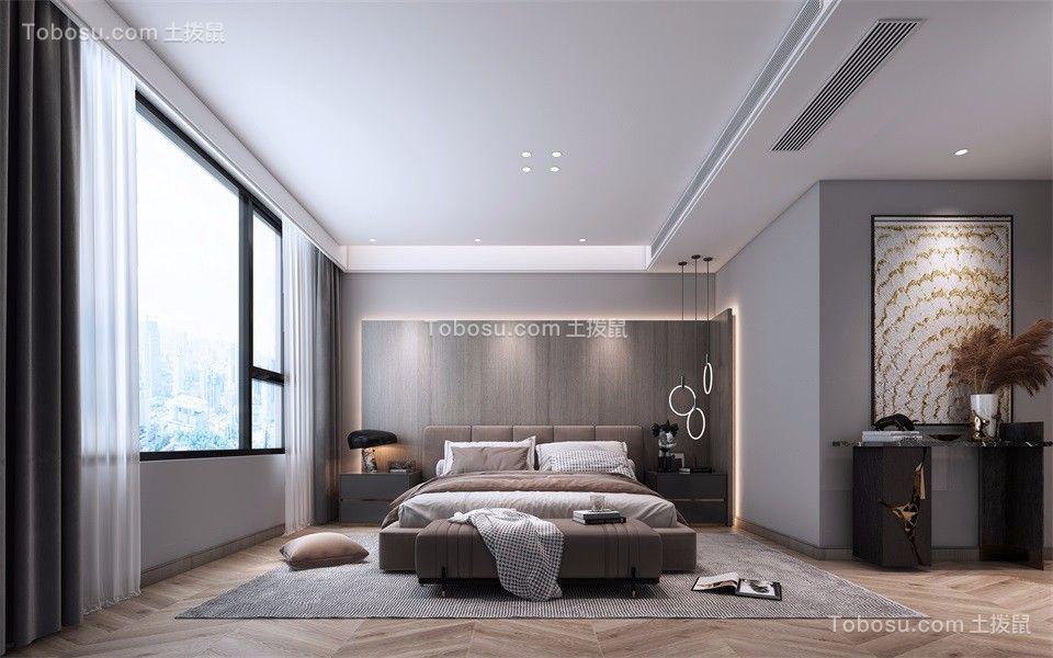 2021现代卧室装修设计图片 2021现代床头柜装修设计图片