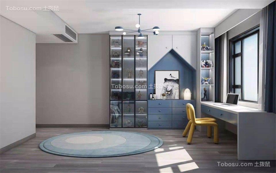 2021现代简约书房装修设计 2021现代简约窗台设计图片