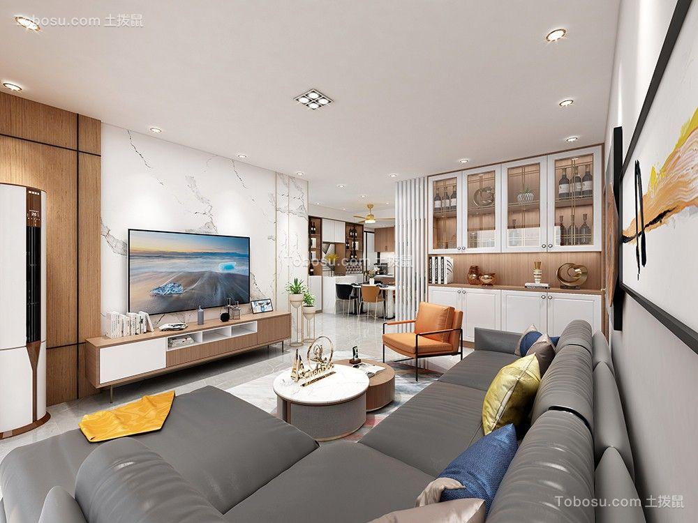 141平米的三室现代轻奢