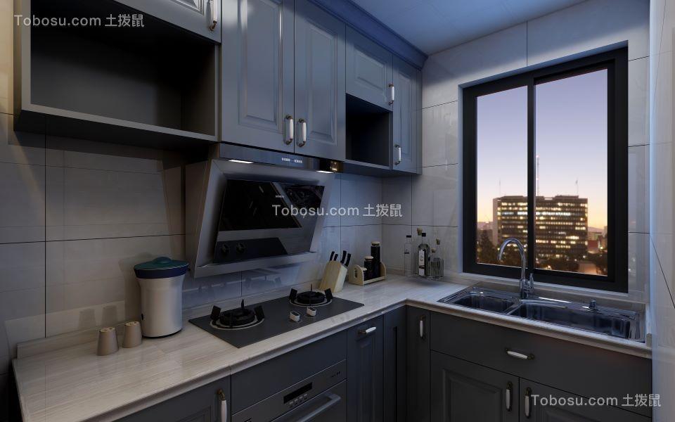 2021简约厨房装修图 2021简约灶台装修图片