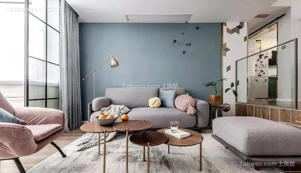 2021北欧客厅装修设计 2021北欧沙发装修图