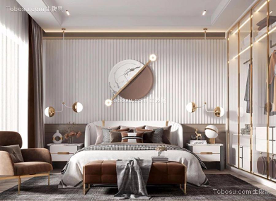 2021后现代卧室装修设计图片 2021后现代背景墙装饰设计