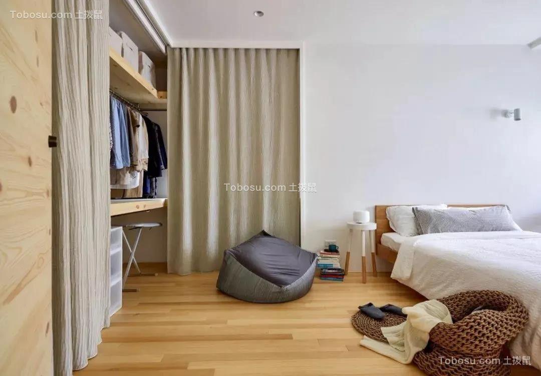 2021日式卧室装修设计图片 2021日式衣柜装修效果图片