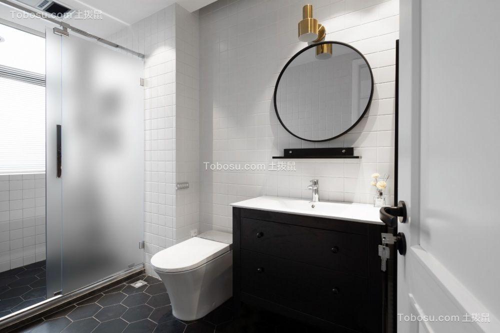 2021北欧卫生间装修图片 2021北欧洗漱台装修设计图片