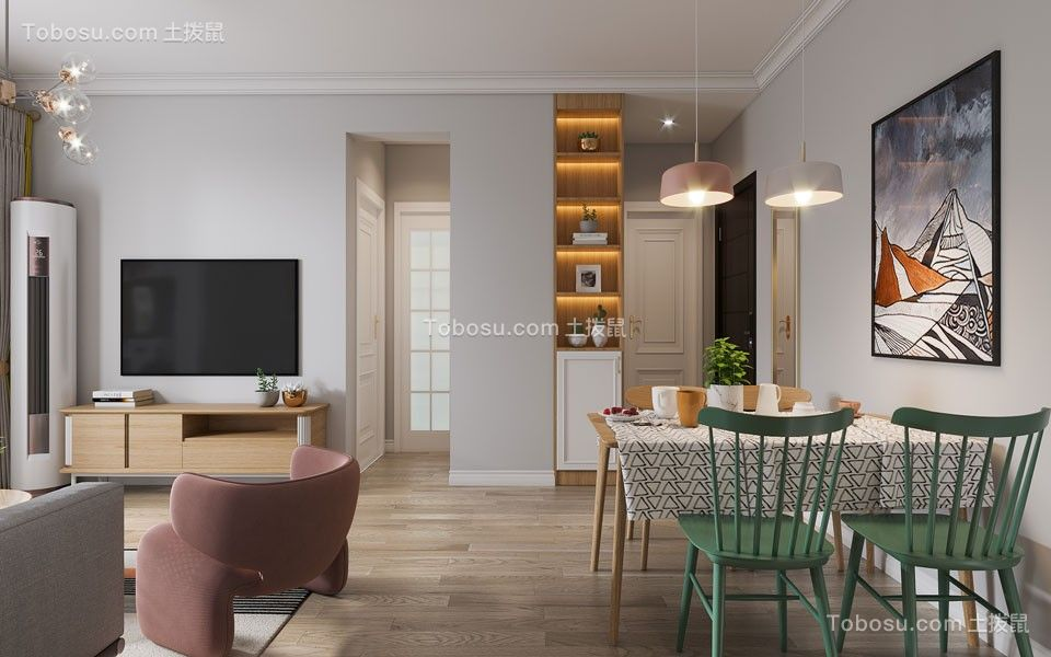 2021简约客厅装修设计 2021简约细节装饰设计