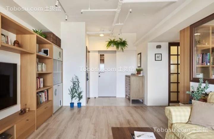 2021日式客厅装修设计 2021日式电视背景墙图片
