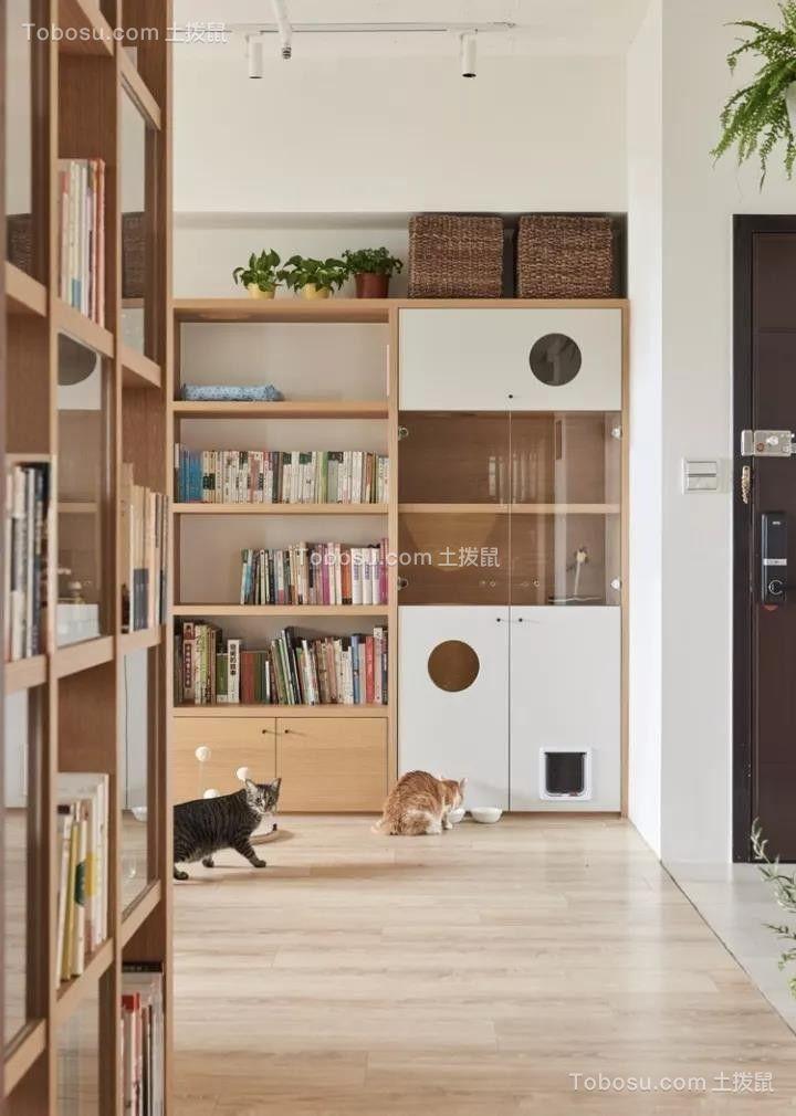 2021日式书房装修设计 2021日式书架装修图片