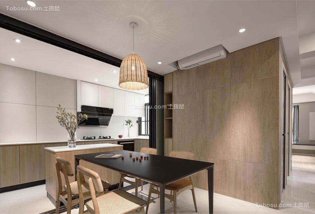 2021现代餐厅效果图 2021现代背景墙装修图