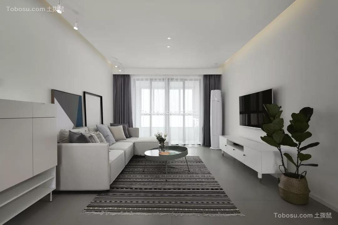 114平米的房子,简约风格简直太美了!