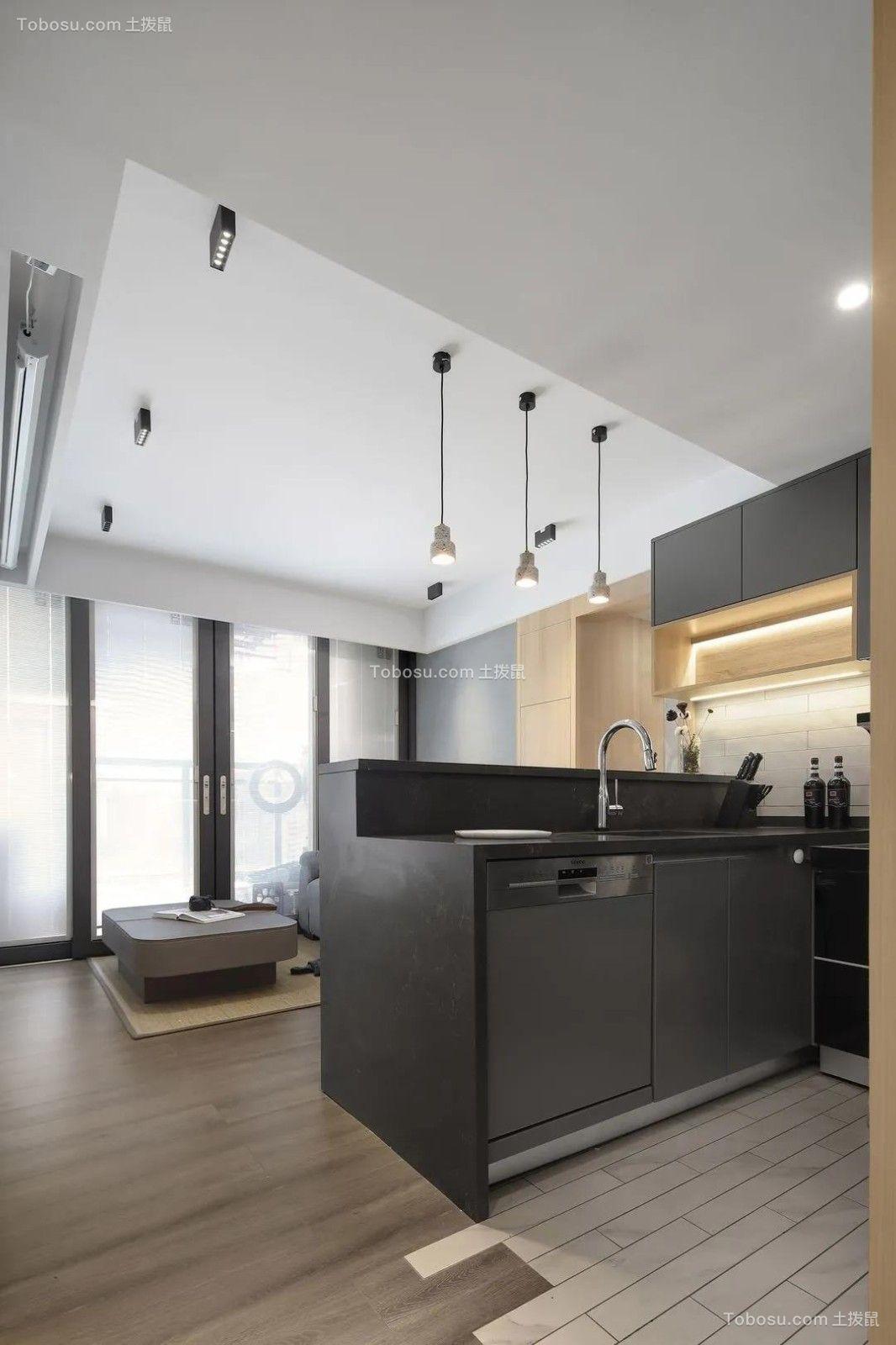 2021现代简约厨房装修图 2021现代简约细节装饰设计