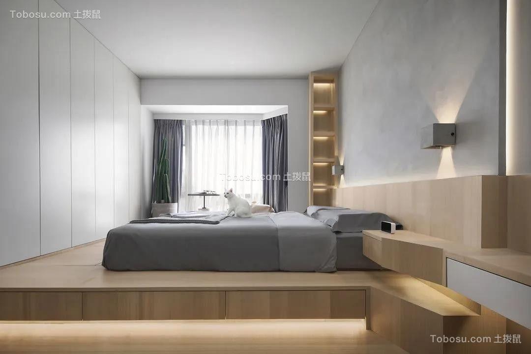2021现代简约卧室装修设计图片 2021现代简约榻榻米装修设计图片