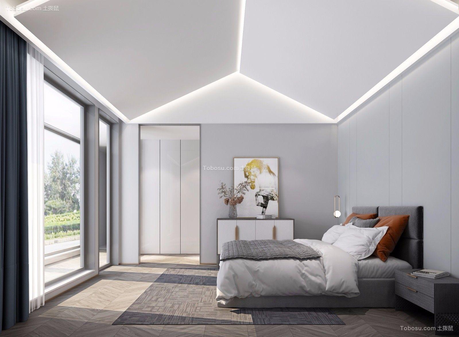 2021简约卧室装修设计图片 2021简约床图片